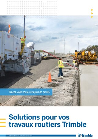 Trimble Paving Solutions Brochure - French
