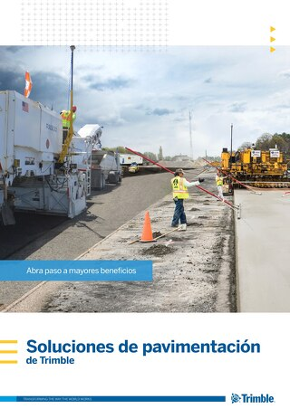 Trimble Paving Solutions Brochure - Spanish