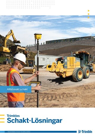 Trimble Earthworks Solutions Brochure - Swedish
