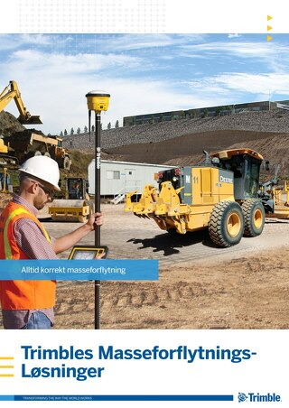 Trimble Earthworks Solutions Brochure - Norwegian