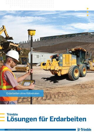 Trimble Earthworks Solutions Brochure - German