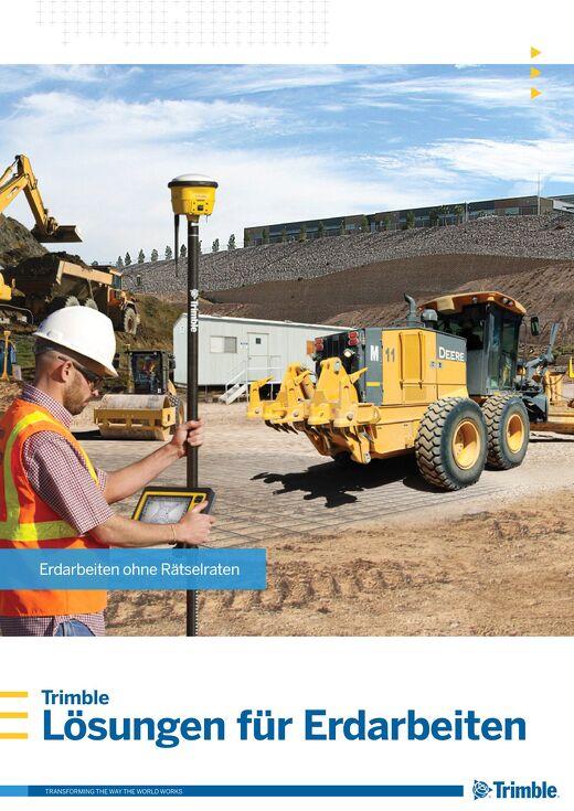 Trimble Earthworks Solutions Brochure - German