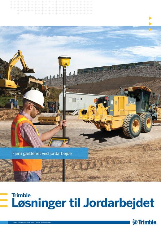 Trimble Earthworks Solutions Brochure - Danish
