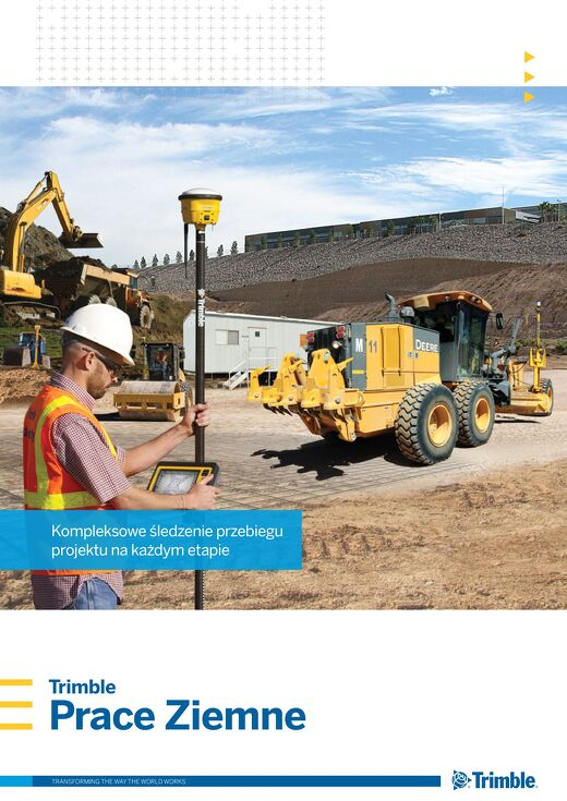 Trimble Earthworks Solutions Brochure - Polish
