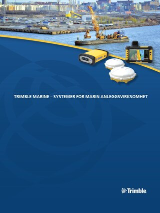Trimble Marine Solutions Brochure - Norwegian