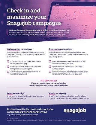 Maximize your hiring campaigns