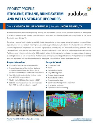 USGC Petrochemicals Projects