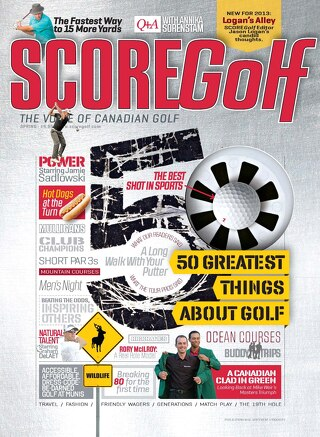 SCOREGolf Spring Issue