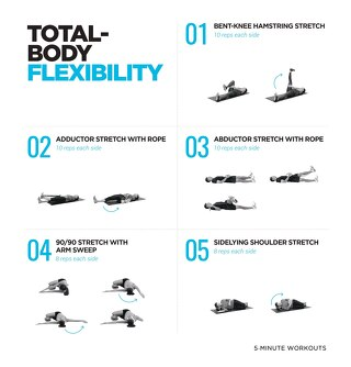 5-minute total-body flexibility workout