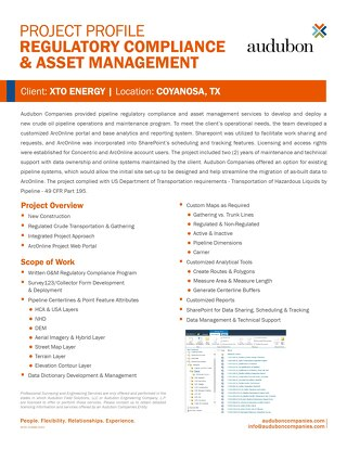 AFS - Coyanosa Regulatory Compliance and Asset Management