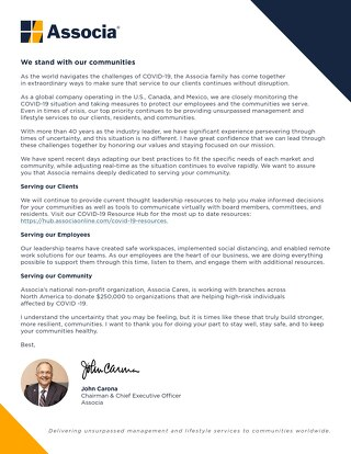 A Letter from Our CEO