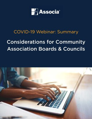 COVID-19 Webinar Summary