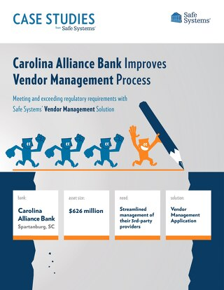 Carolina Alliance Bank - Vendor Management