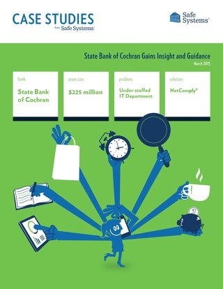 State Bank of Cochran - IT Network Management