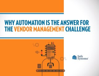 Why Automation is The Answer for Vendor Management