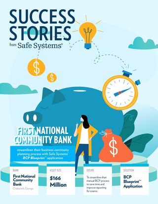 First National Community - Business Continuity Planning