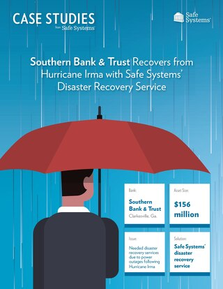 Southern Bank and Trust - Disaster Recovery