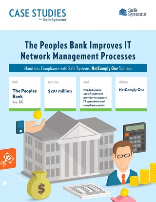 The Peoples Bank - IT Network Management Processes