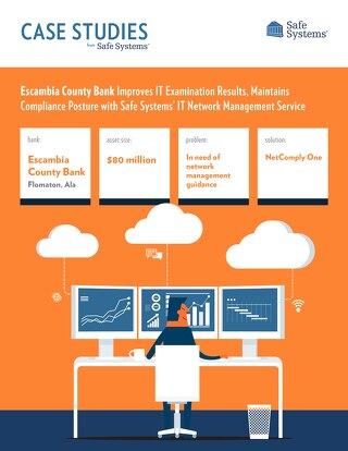 Escambia County Bank Improves IT Network Management