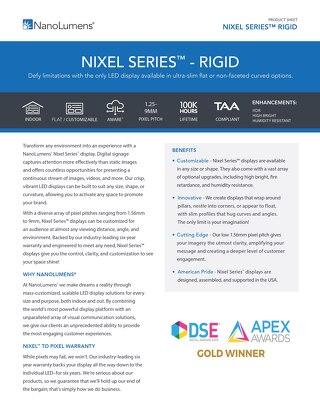 NanoLumens Nixel Rigid