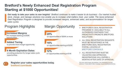 Bretford Deal Registration Program