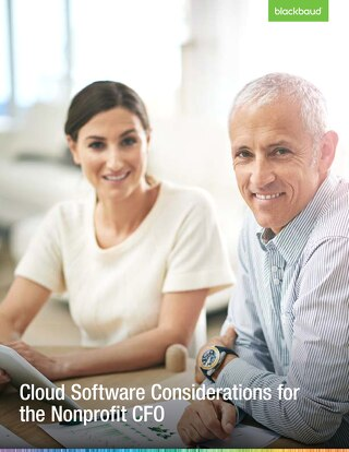Whitepaper: Cloud Software Considerations for Nonprofit CFOs