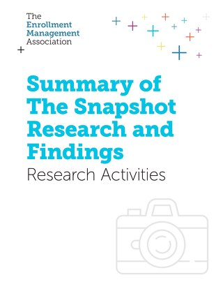 Summary of The Snapshot Research and Findings