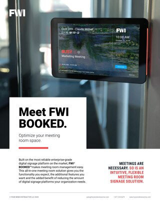 Learn About FWI BOOKED