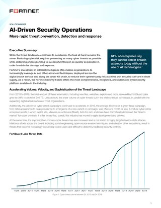 AI-Driven Security Operations
