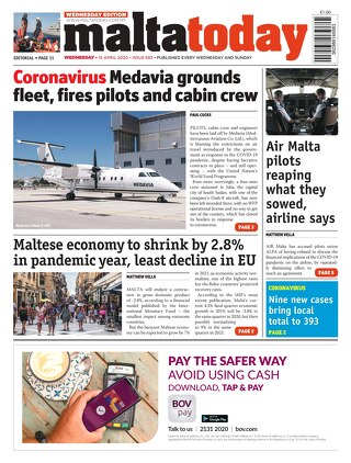 MaltaToday 15 April 2020 MIDWEEK