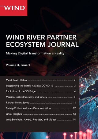 Wind River Partner Ecosystem Journal Vol 3 Issue 1