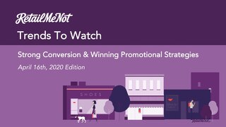 Trends To Watch April 16, 2020
