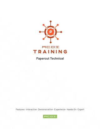 ACDI Technical Training