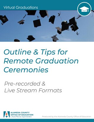 Unbranded Virtual Graduation Ceremony Template