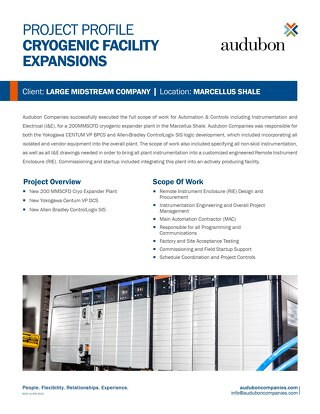 Cryogenic Facility Expansions