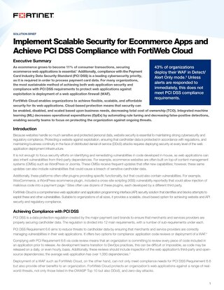 Implement Scalable Security for Ecommerce Apps