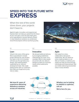 Express 2020 One-Pager