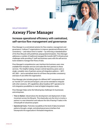 AMPLIFY™ Flow Manager