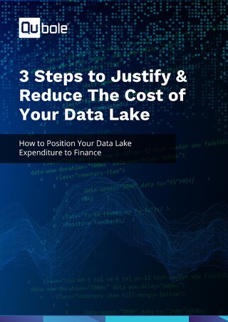 3 Steps to Justify & Reduce The Cost of Your Data Lake