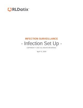 RL6: Job Aid Infection Setup steps