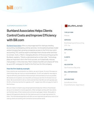 Case Study - Burkland Associates