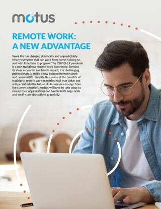 Remote Work: A New Advantage Report
