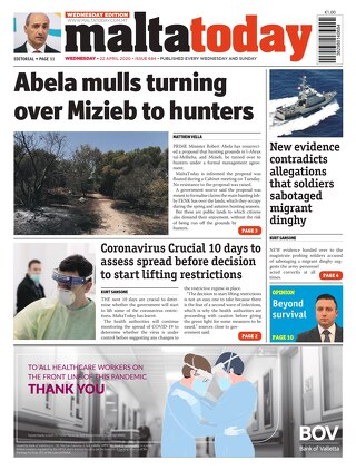 MaltaToday 22 April 2020 MIDWEEK