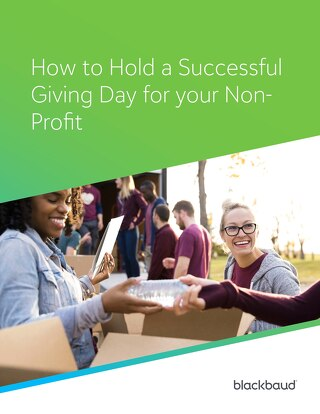 How to hold a successful Giving Day for your Non-Profit