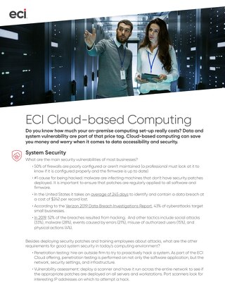 Cloud Factsheet