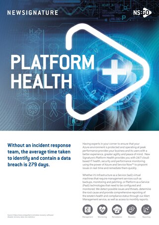 NS:GO Platform Health 2020