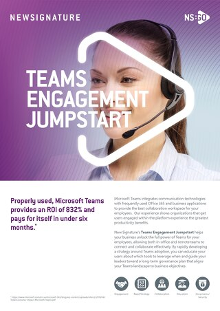 NS:GO Teams Engagement Jumpstart 2020