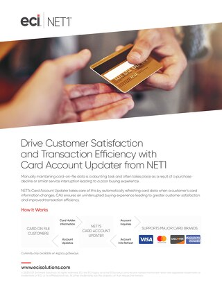 Card Account Updater from NET1