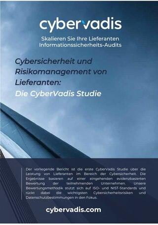 CyberVadis Studie: Cybersicherheit und Risikomanagement von Lieferanten