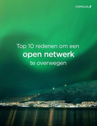 Top 10 redenen om een Open Netwerk te Overwegen